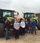 Students experience modern engineering systems through agricultural industry visit