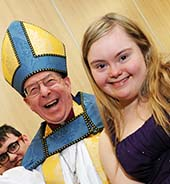 Bishop of St David's classroom visit