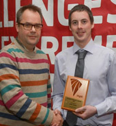 Student wins UK-wide agricultural engineering award