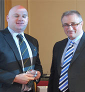 Fire service awards college for developing online staff training