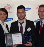 Student wins Prince's Trust Educational Achiever award
