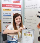 Leanne wins regional final of Dulux competition