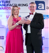Chair of Corporate Board wins UK Manufacturing Champion Award