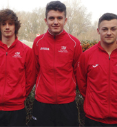 College footballers upping their game in international field