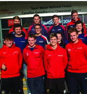 Sports staff introduce Welsh medium course